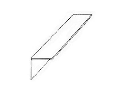 """90º Angle - 96"""" Long"""