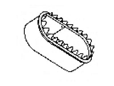 Oval B Collar